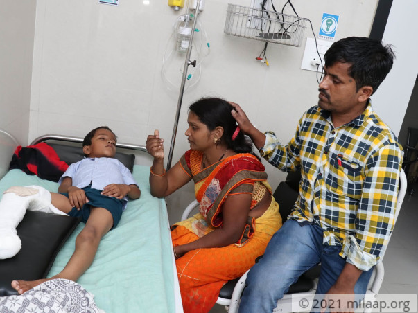 Help Krushna Recover
