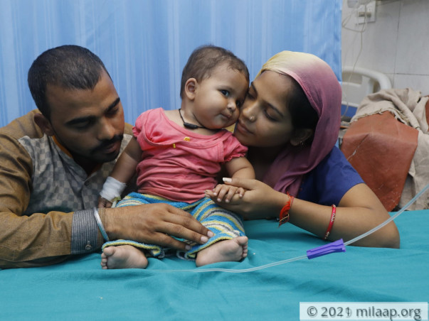 Just When Baby Mannat Was Learning To Stand Up, Life Knocked Her Down