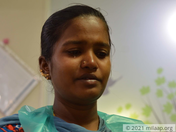 Help Rajeshwari's Baby Undergo An Open Heart Surgery