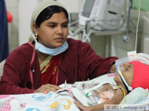 Help Sumaya Fight Congenital Heart Disease