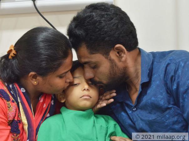 Help Shayan Fight Leukemia