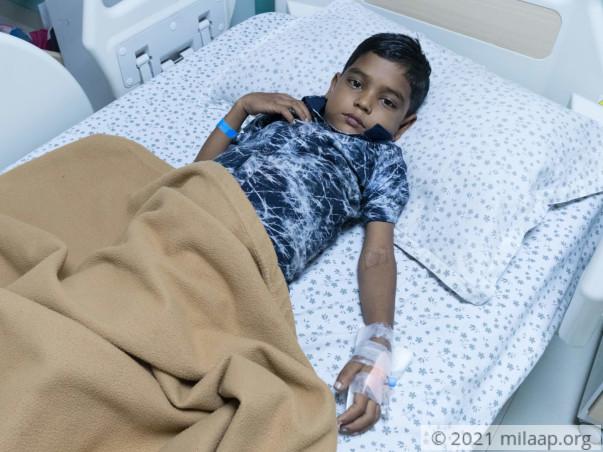 Help Shivraj Fight Chronic Liver Disease