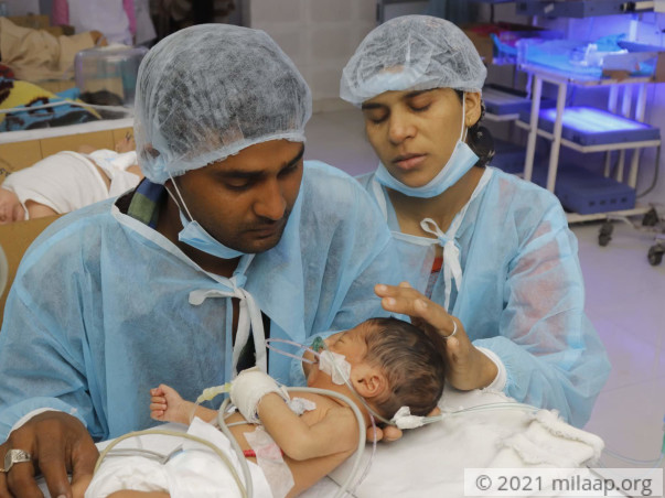 Help Shahina's Baby Fight Hypoglycemia With Respiratory Failure