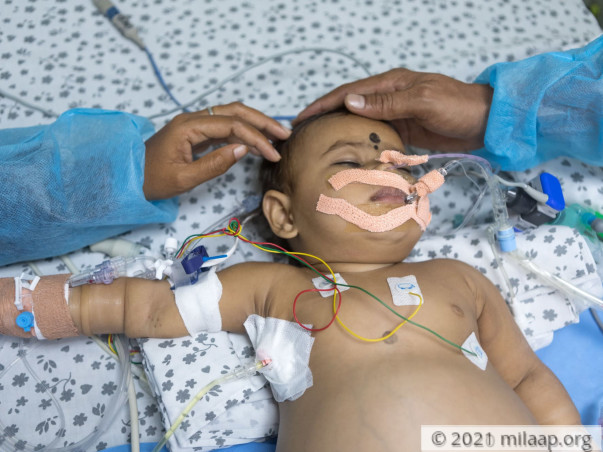 Help Lithiksha Recover From Buddechairi Syndrome