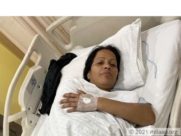 Help Mamta Recover From Uterine Cyst