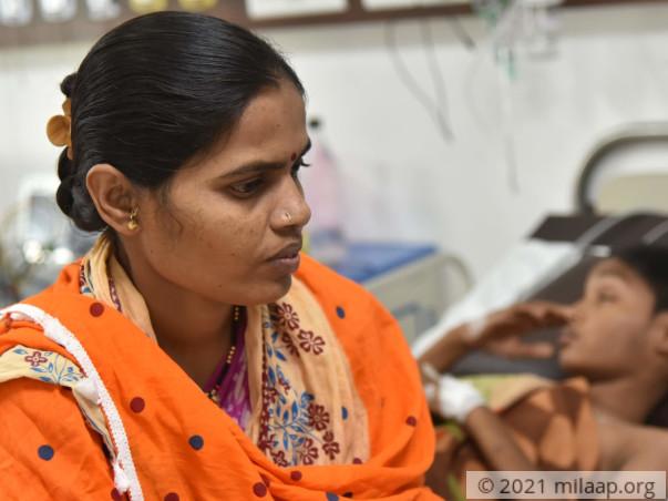 Help Kalpesh Recover From Pneumonia