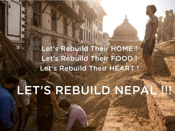 I am fundraising to rebuild Nepal