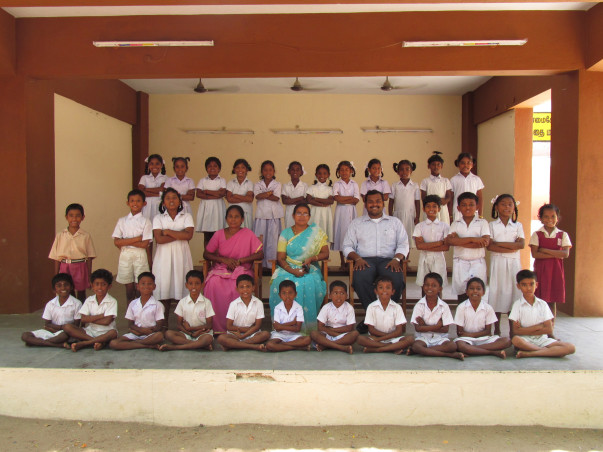 I am fundraising to support my class and my MGR Nagar Corporation School