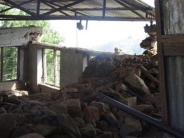 We are fundraising to rebuild a school in Nepal. Join us - every little bit counts!