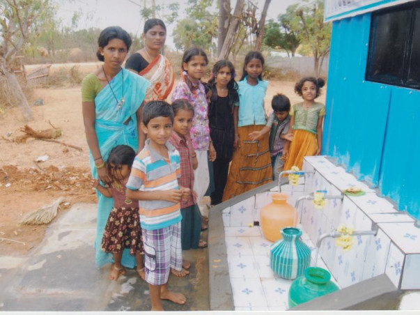 I am fundraising to provide clean water at 20 paise per litre for rural families. Adopt a family and you could make a difference!