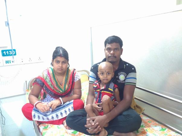 I am fundraising to help 3 year old Rahul fight leukemia