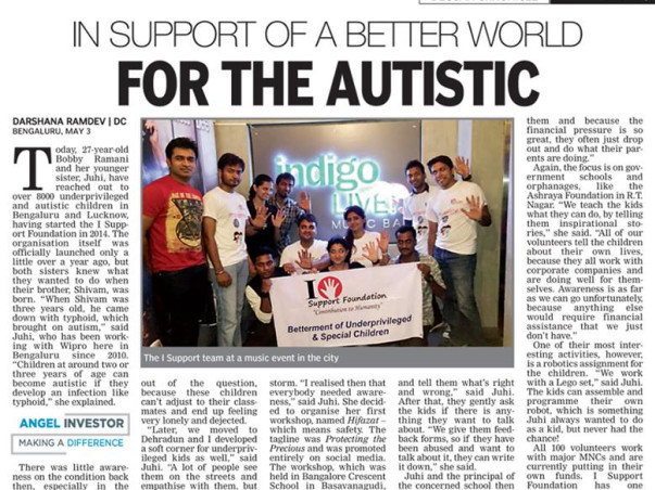 I'm climbing a mountain to autism and We- a help to create an inclusive platform for Autism