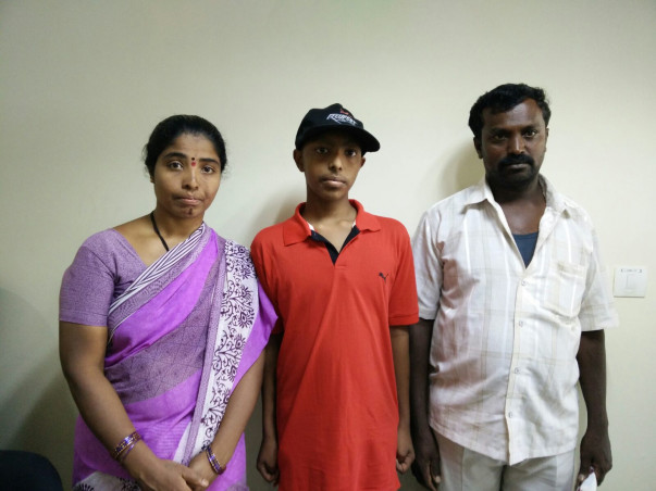 I am fundraising to help Santosh to fight Cancer