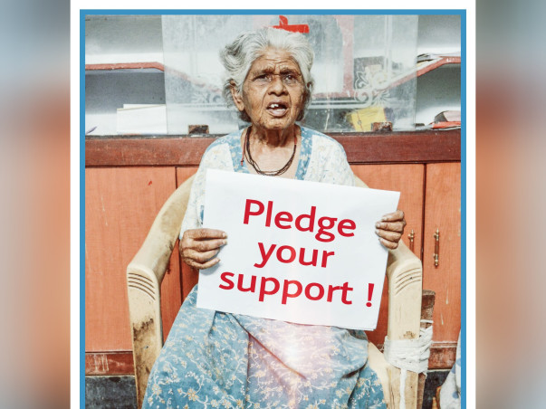 I am fundraising to pledge your Support for Destitute - Elderly_Sick_Disabled