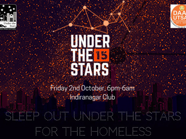 I am raising funds for Under the Stars to support the homeless.