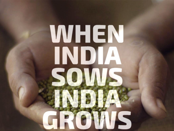 We are fundraising to help make information available to farmers through Mahindra's #SeedTheRise Initiative
