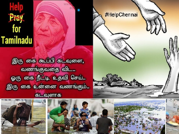 I am fundraising to cONTRIBUTE FOR CHENNAI