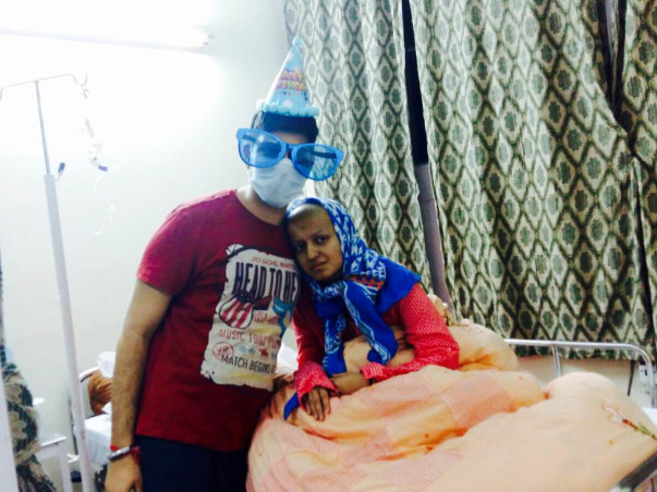 I am fundraising to fight Against Cancer - Save a life - Save Somya