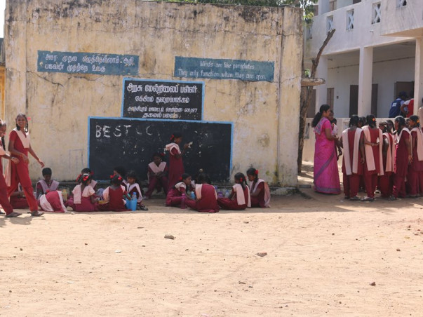 I am fundraising to rebuild infrastructure in schools affected in the floods in Tamil Nadu