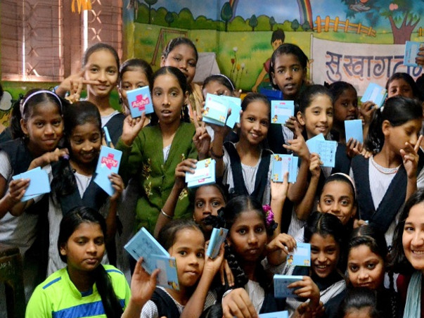 #BeBoldForChange. Let us make schools in Mumbai period friendly
