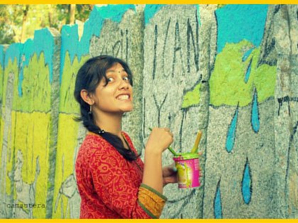 I am fundraising to support - Paint for a Cause