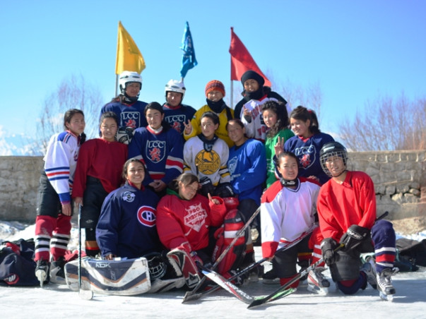 Help Indian National Women Ice Hockey Team Reach Taipei