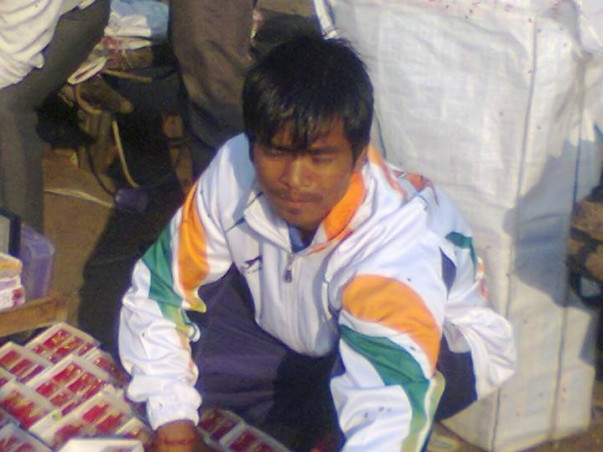 Support Ice Skating Champion Rajkumar