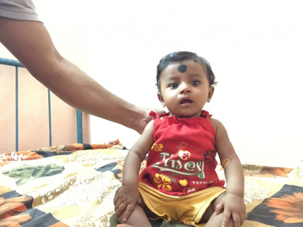 Support 5 mnth old angel Sayani's cancer treatment