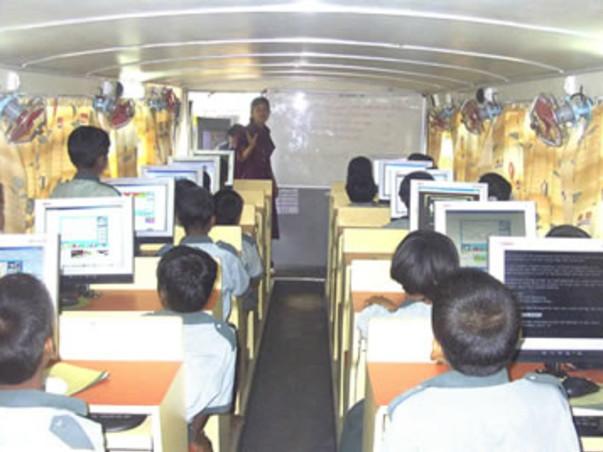 Mobile Computer Lab For Village