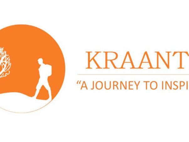 Kraanti - A journey to inspire