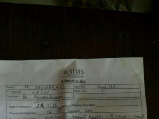 Need Money For a Cancer Patient Immediate Surgery