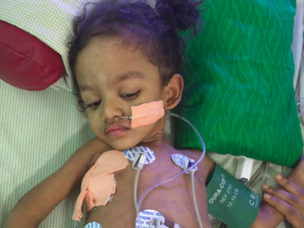 Please help 2 year old Madhan come back to normal life