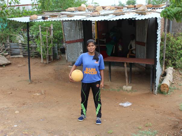 Help Akanksha represent India at the Football Homeless World Cup