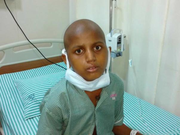 Help 13-Year-Old Akshay Fight Leukemia