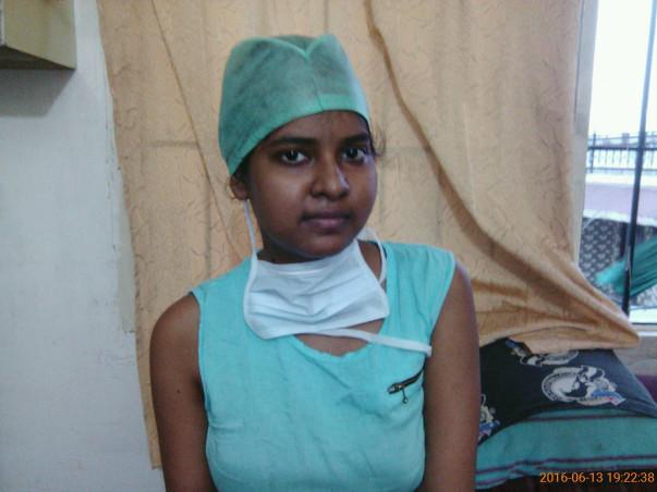 Help saroj fight lymphoma cancer