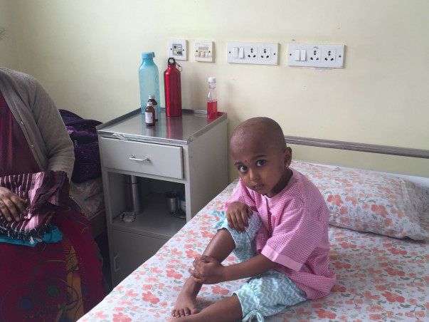 Help My 3-Year-Old Daughter, Varsha Fight Cancer