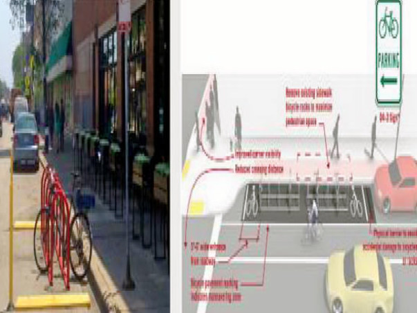 Bengaluru Marathon: Multiple Cycle Parking Facilities, HSR Layout