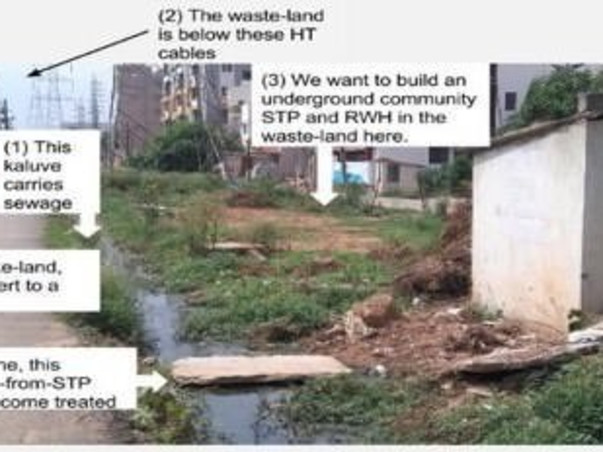 Peace Ride: Sewage Water Treatment, Brookfield
