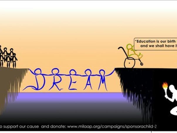 DREAM Run - YOU Support. We Run. They Win!!!