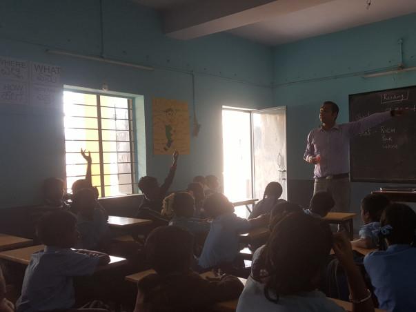 Support 80 kids to catch their dreams - Sagar/Natalie