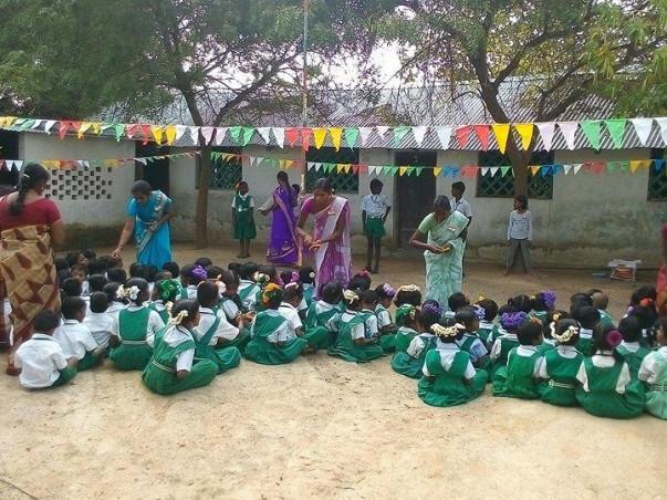support basic education for poor children in village school