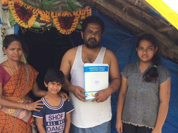 Help Trinadha Rao for an urgent heart transplantation