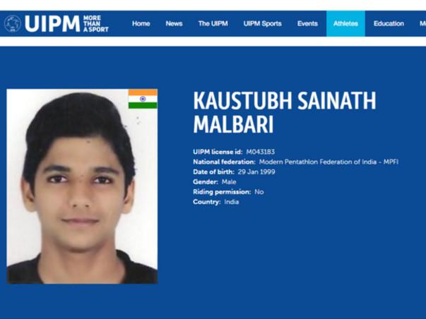 Send Kaustubh For World Championship