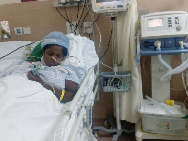 Help This New Mother Get Treated For Brain Haemorrhage And Survive