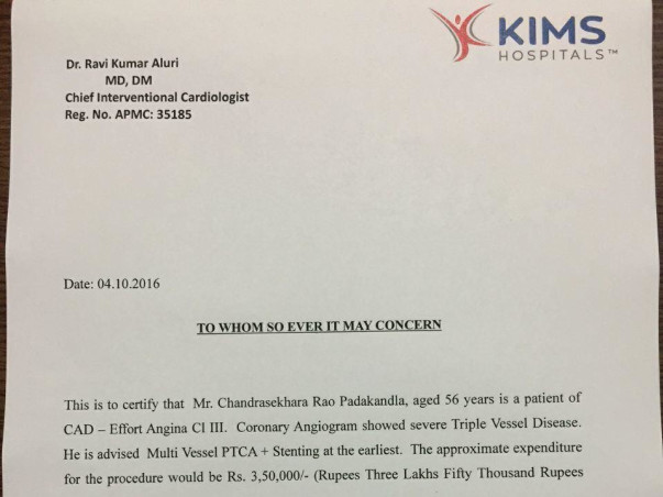 Help for treatment of CAD triple vessel disease