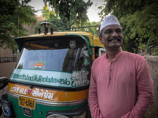 "Ahmedabad no Rickshawalo – Personifying ""Love All, Serve All"""