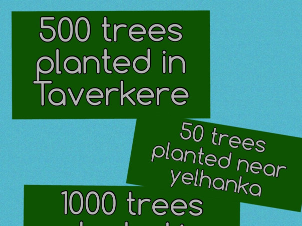 Plant trees save the world