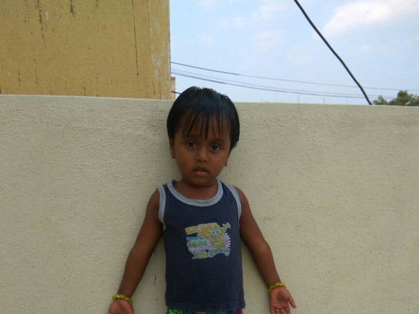 Help Baby Grishmitha fight a serious blood disorder