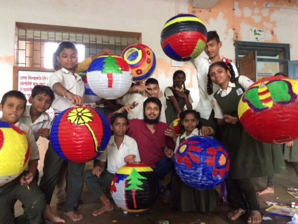 This Gandhian Fellow Is Fundraising To Build A School Library