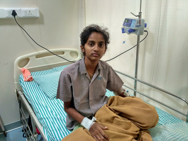 Help Ashwini get treatment for blood cancer